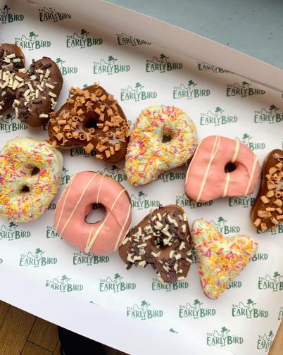 Bespoke Happy Bday Doughnuts